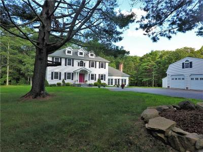 Scituate Single Family Home Act Und Contract: 180 George Washington Hwy