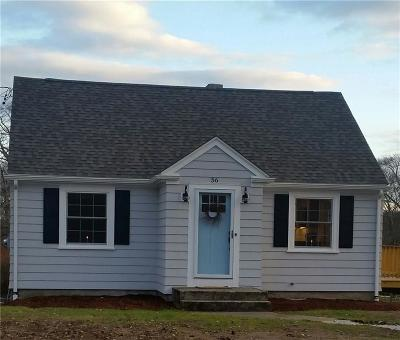 Swansea Single Family Home Act Und Contract: 56 Marvel St