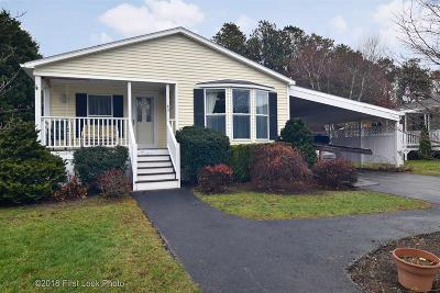 South Kingstown Single Family Home Act Und Contract: 63 Pitch Pine Pl