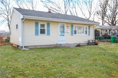 Cranston Single Family Home For Sale: 22 Oakwood Dr
