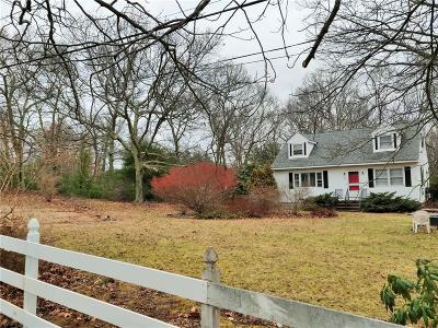 Coventry Single Family Home For Sale: 291 Station St
