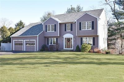North Kingstown Single Family Home Act Und Contract: 422 Chimney Rock Dr