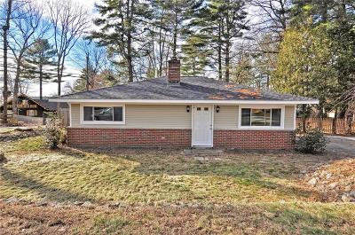 Providence County Single Family Home For Sale: 154 Lake View Dr