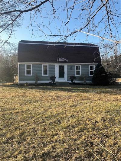 Burrillville Single Family Home For Sale: 735 Steere Farm Rd