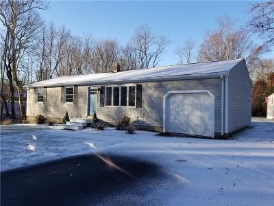 North Kingstown Single Family Home Act Und Contract: 600 Oak Hill Rd