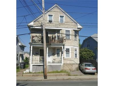 Providence RI Multi Family Home For Sale: $145,000