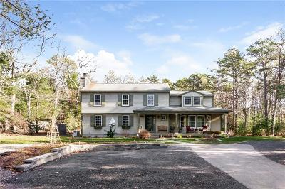 Washington County Single Family Home Act Und Contract: 91 Black Pond Rd