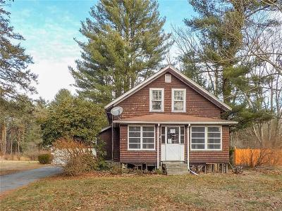 Norton MA Single Family Home For Sale: $207,900
