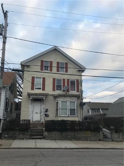 Central Falls Multi Family Home For Sale: 7 Fales St