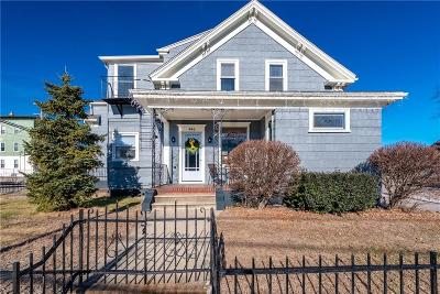 Woonsocket Multi Family Home For Sale: 460 Diamond Hill Rd