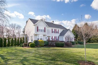 South Kingstown Single Family Home Act Und Contract: 449 Kettle Pond Dr