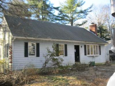 Single Family Home For Sale: 262 Weaver Hill Rd