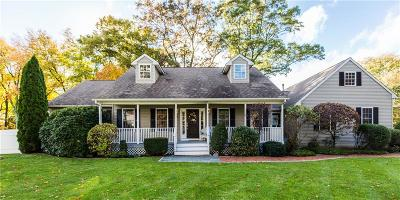 Cranston Single Family Home For Sale: 489 Comstock Pkwy