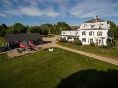 Westerly Single Family Home For Sale: 308 Shore Rd