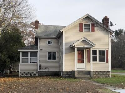 Seekonk Single Family Home For Sale: 448 Fall River Av