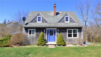 Block Island Single Family Home For Sale: 1270 Side Rd