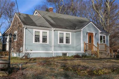 Scituate Single Family Home Act Und Contract: 224 W Greenville Rd
