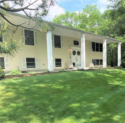 Single Family Home For Sale: 469 Plain Rd