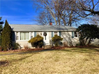 Cranston Single Family Home For Sale: 83 Bateman Av