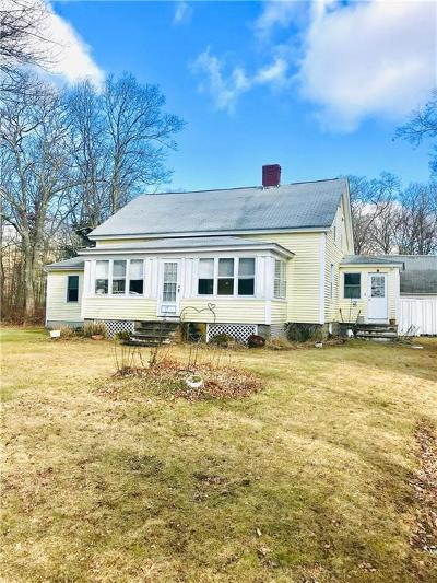 Scituate Single Family Home Act Und Contract: 1304 Chopmist Hill Rd