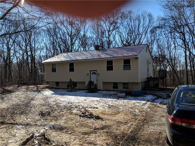 Burrillville Single Family Home For Sale: 1575 Jackson Schoolhouse Rd