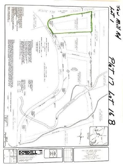 Hopkinton RI Residential Lots & Land For Sale: $84,900