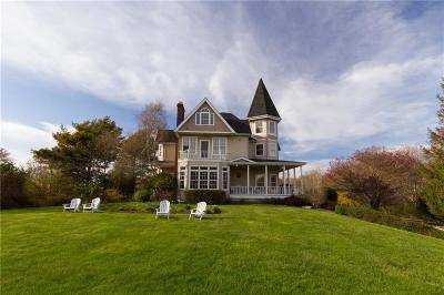 Narragansett Single Family Home For Sale: 51 Sunset Blvd