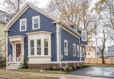 Providence Single Family Home Act Und Contract: 191 Pleasant St