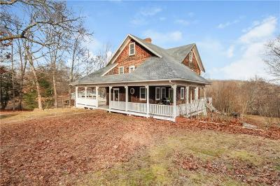 Westerly Single Family Home For Sale: 22 Pound Rd