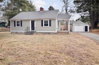 Burrillville Single Family Home For Sale: 140 Steere Farm Rd