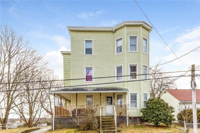 Woonsocket Multi Family Home For Sale: 672 Fairmount St
