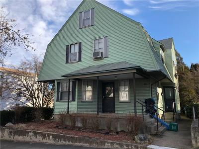 Providence RI Multi Family Home For Sale: $189,000