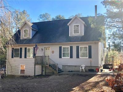 Charlestown RI Single Family Home For Sale: $284,900