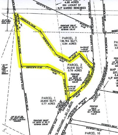 Swansea MA Residential Lots & Land For Sale: $135,000