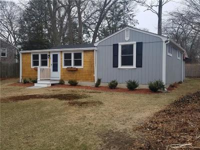 North Kingstown Single Family Home Act Und Contract: 22 Island St