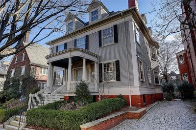 Providence County Single Family Home For Sale: 145 Meeting St