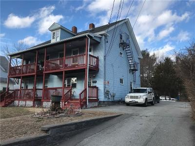 Woonsocket Multi Family Home For Sale: 358 Privilege St
