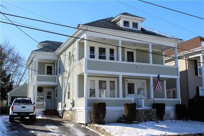Woonsocket Multi Family Home Act Und Contract: 82 Avenue B