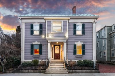 Newport Single Family Home For Sale: 86 Spring St
