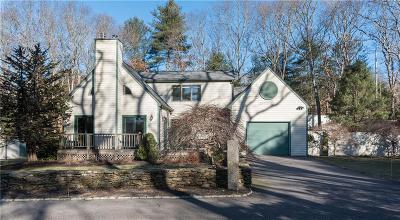 South Kingstown Single Family Home For Sale: 51 - C Old Shannock Rd