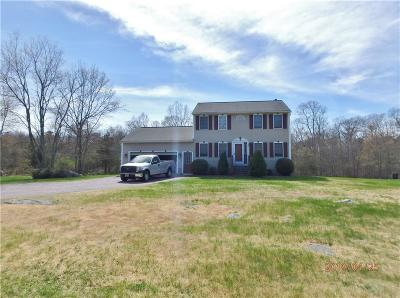 Coventry Single Family Home For Sale: 797 Victory Hwy
