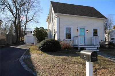 Barrington Single Family Home Act Und Contract: 22 Williams St