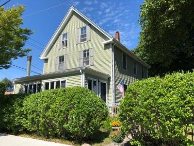Jamestown Single Family Home For Sale: 148 Narragansett Av