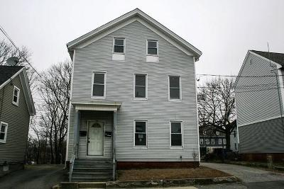 Woonsocket Multi Family Home Act Und Contract: 255 - 259 Arnold St