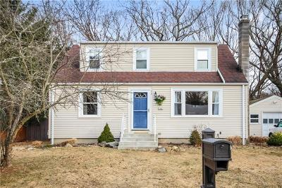 North Kingstown Single Family Home Act Und Contract: 90 Rosemary Dr