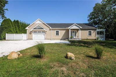 South Kingstown Single Family Home For Sale: 540 - A Matunuck Beach Rd