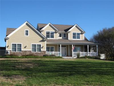 Portsmouth Single Family Home For Sale: 111 Greystone Ter