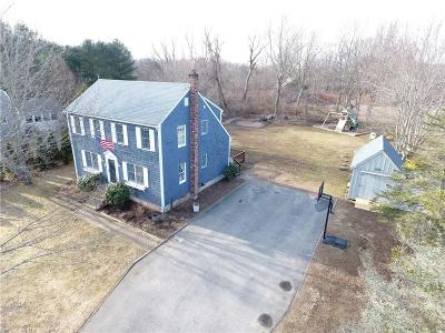 South Kingstown Single Family Home For Sale: 450 Fairgrounds Rd