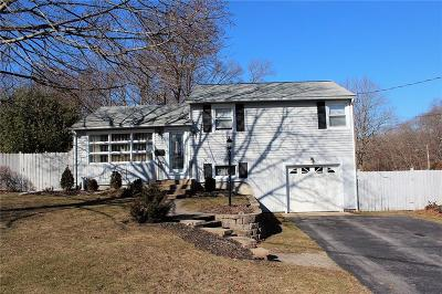 Coventry Single Family Home For Sale: 1 Pettine St