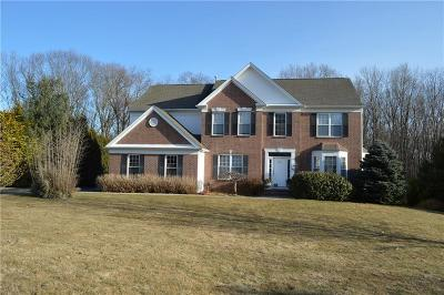 Warwick Single Family Home Act Und Contract: 205 Castle Rocks Rd